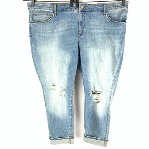 NWT Universal Thread Skinny Distressed Jeans 26W